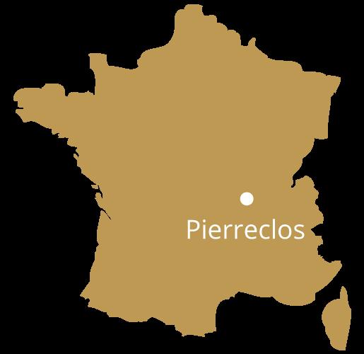 Localisation Pierreclos